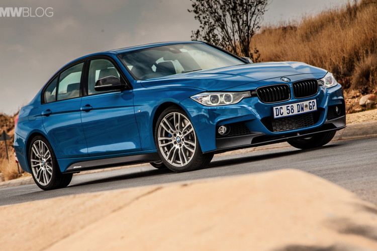 Limited Edition BMW 3 Series Sedan M Performance Edition in Laguna Seca Blue 5 750x500