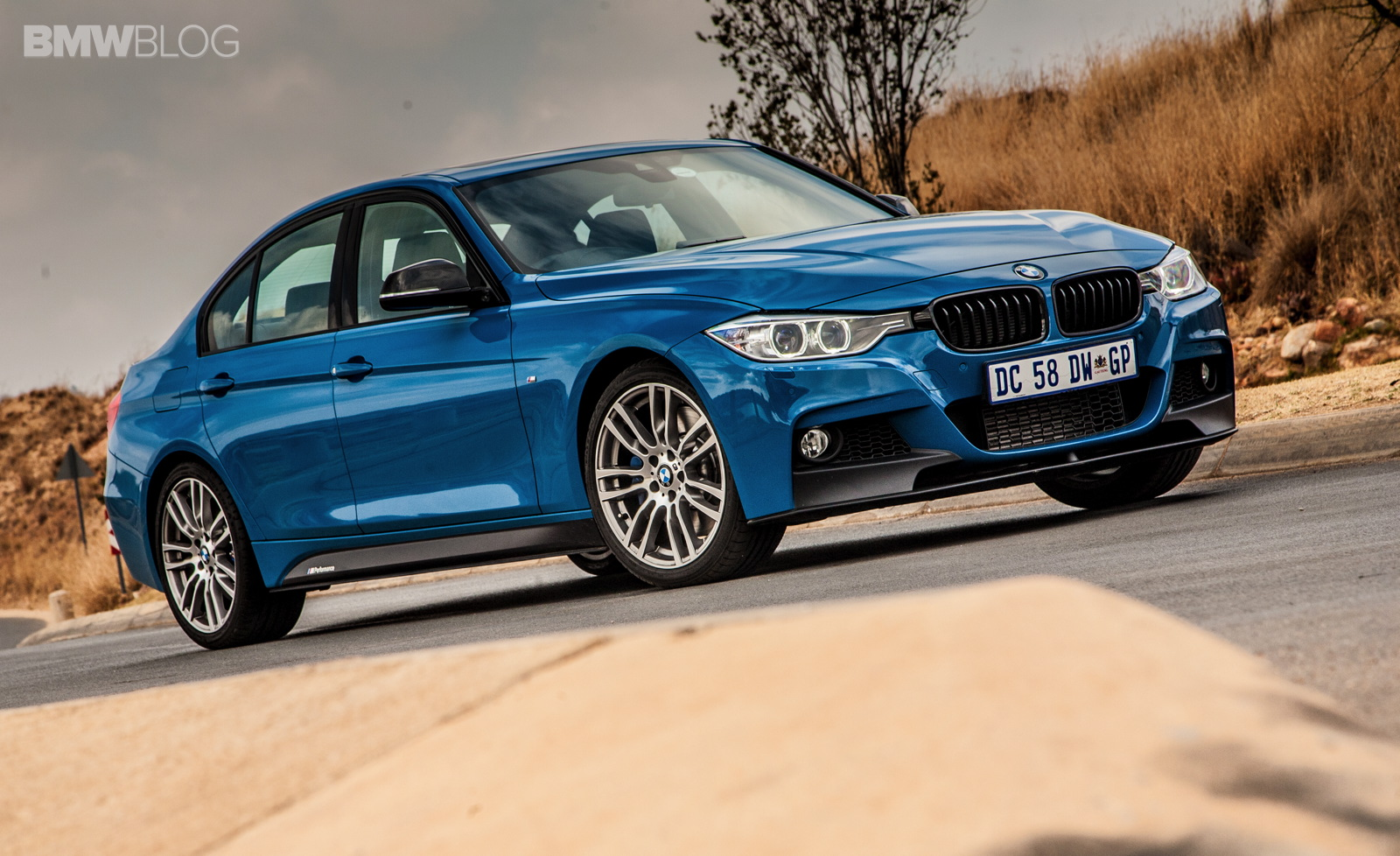 Limited Edition BMW 3 Series Sedan M Performance Edition in Laguna Seca Blue 5