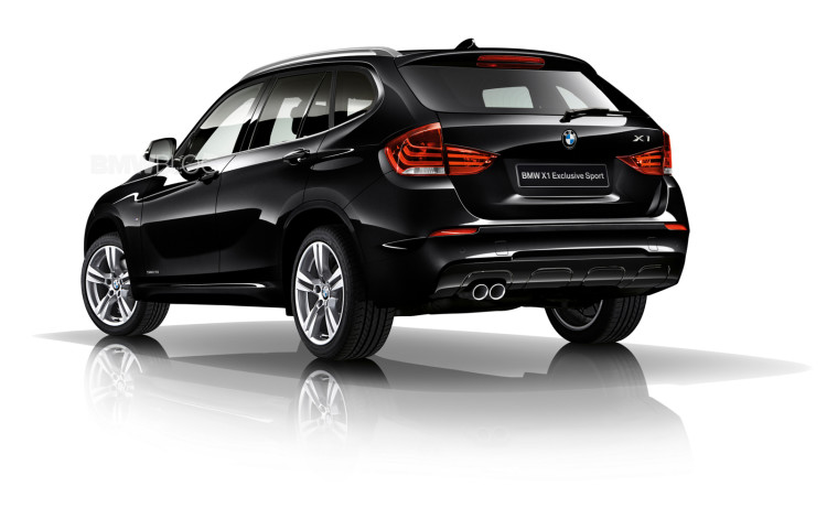 Limited Edition BMW X1 Exclusive Sport Launched 6 750x471