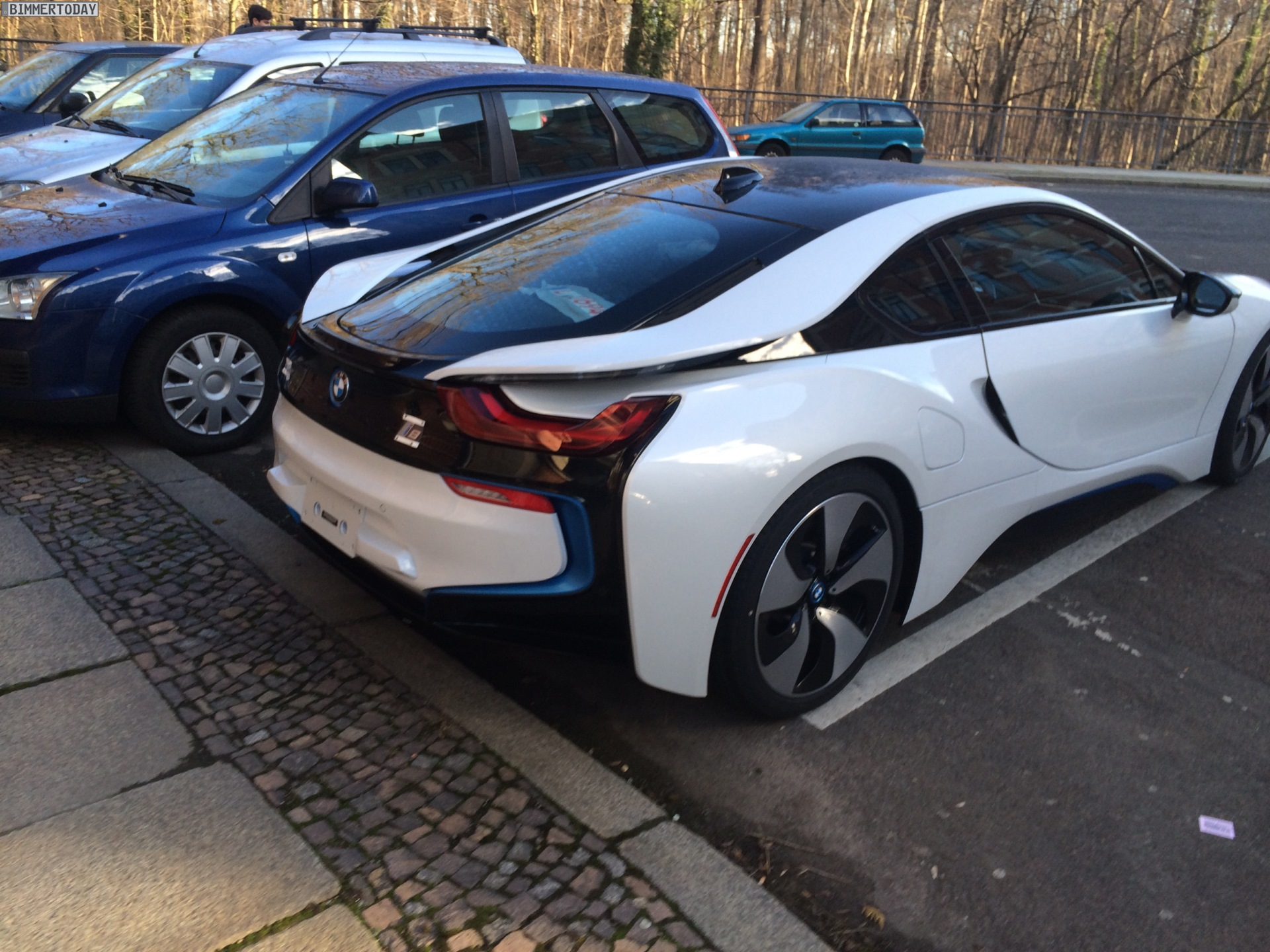 BMW I8 White >> 2014 Crystal White With Frozen Gray BMW i8 For Sale