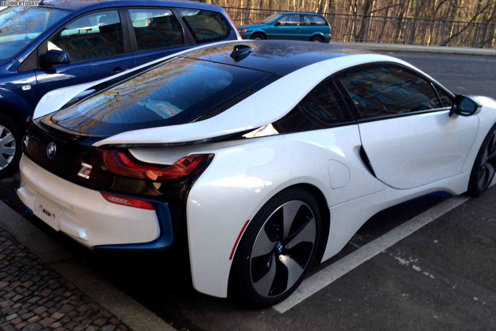 BMW I8 Mpg >> 2014 Crystal White With Frozen Gray BMW i8 For Sale
