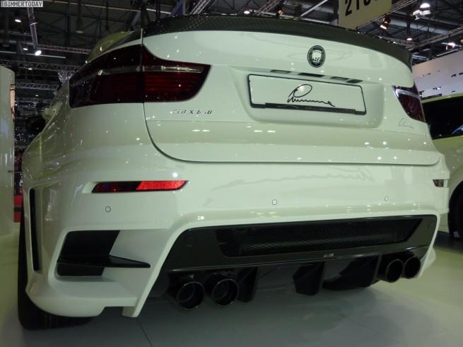 Lumma Design BMW X6 CLR X 650 Genf 2011 06 655x491