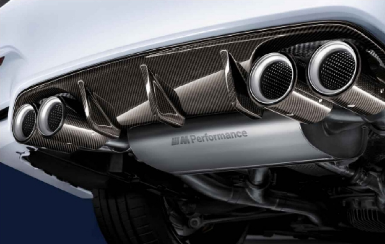 M Performance Exhaust System 1