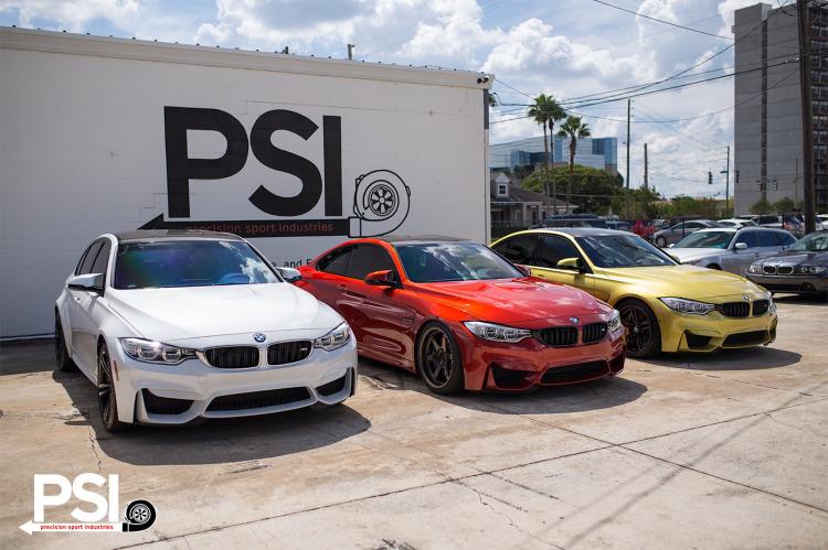 BMW F8X Lowering Showcase