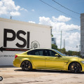 Austin Yellow BMW F80 M3 In For Some Upgrades At PSI