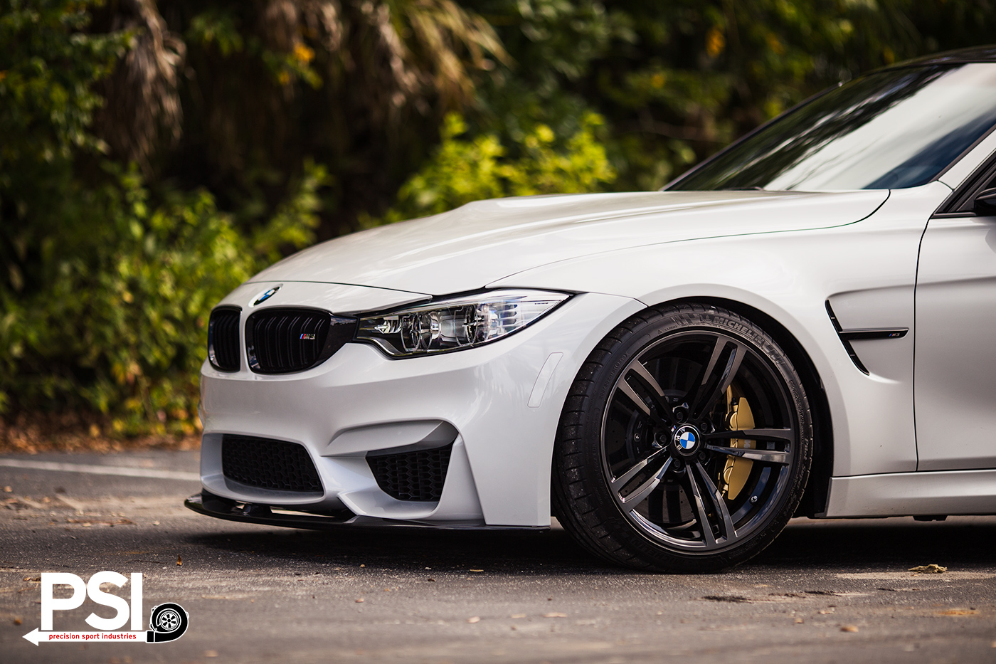 Mineral White Bmw M3 Sedan With Carbon Fiber Goodies