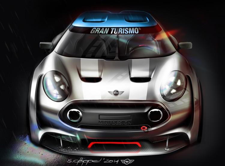 MINI Clubman Vision Gran Turismo F54 GT6 Rennwagen Computerspiel 01 750x553