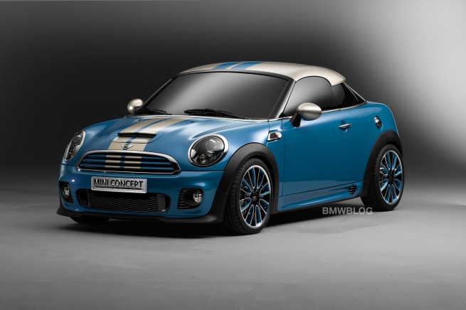 MINI Coupe Concept 655x436