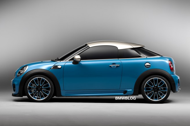 MINI Coupe Concept side