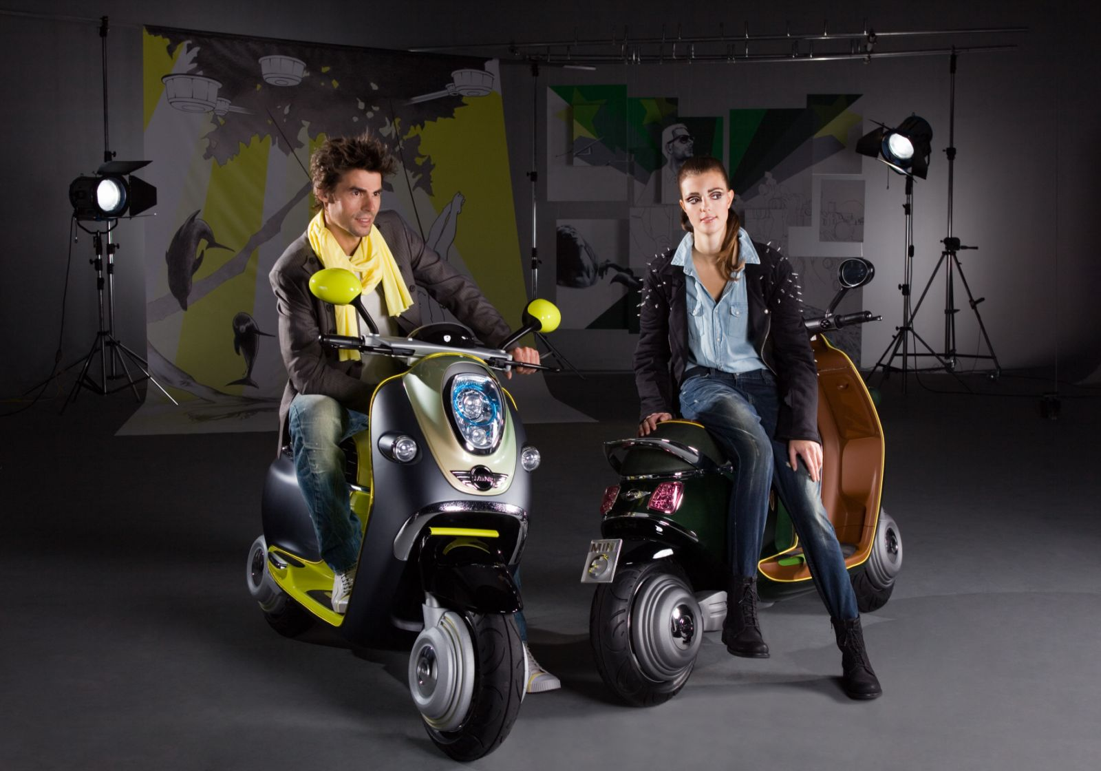 MINI E Scooter 211