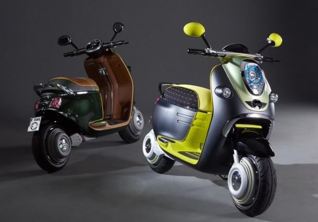 MINI E Scooter 855 655x458