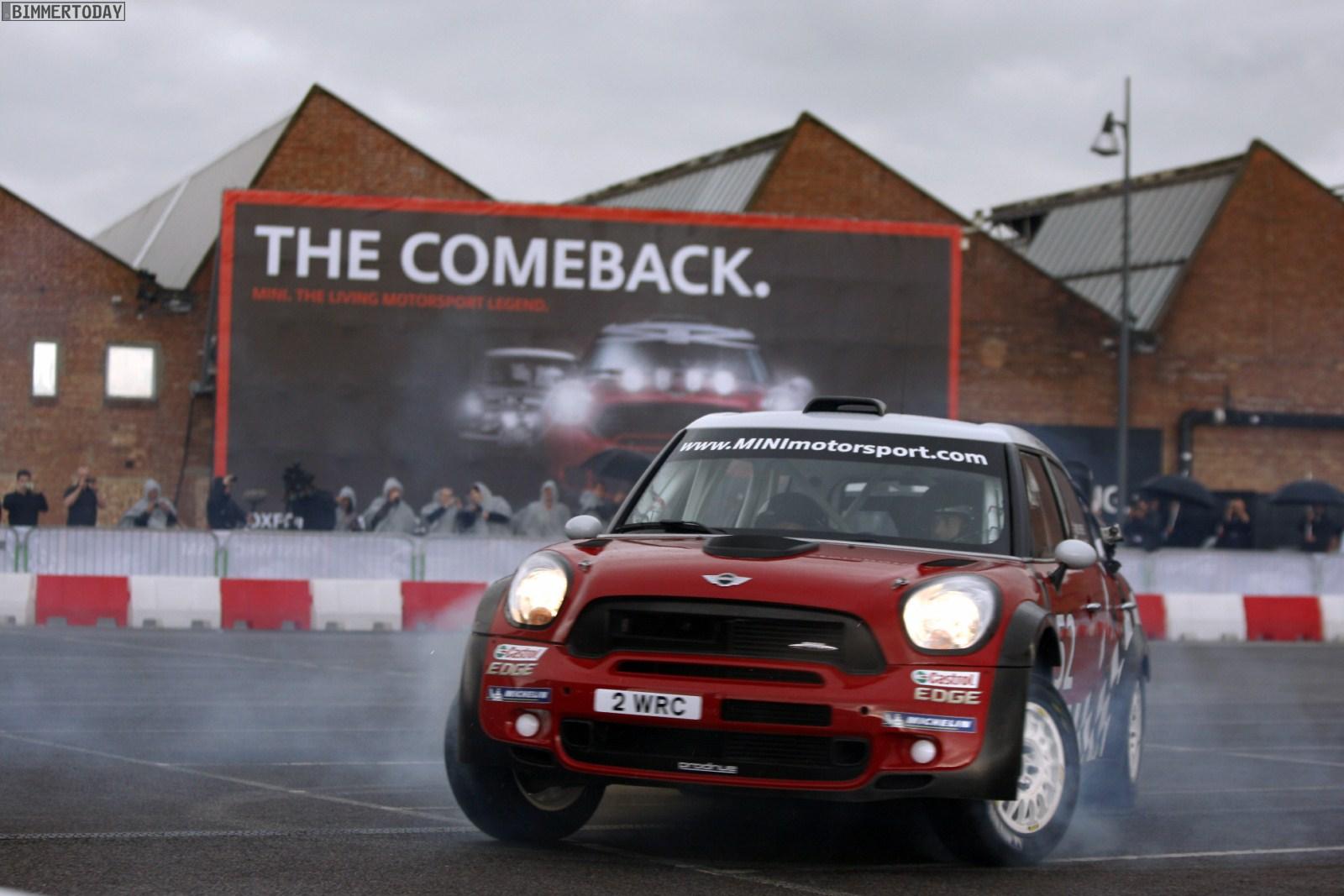 MINI John Cooper Works WRC Launch Oxford 3