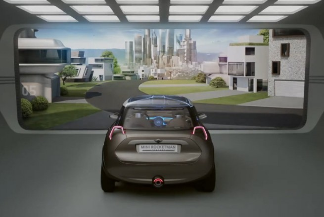 MINI Rocketman Concept Video 655x440