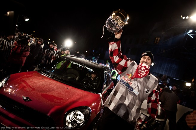 MINI Rookie award Crashed Ice Championship 655x436