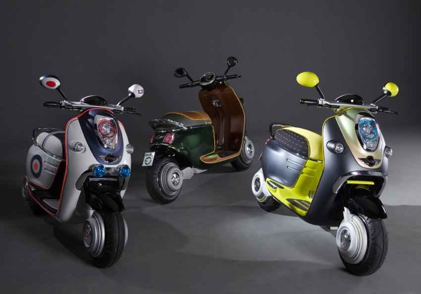 MINI Scooter E Roller1