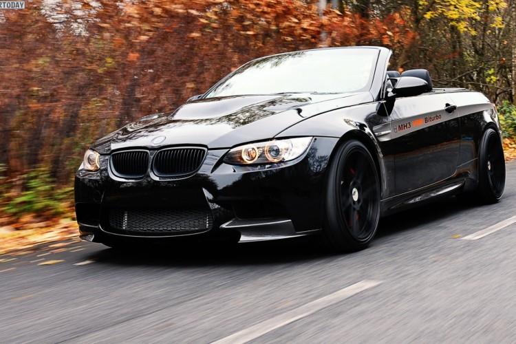 Manhart BMW M3 Cabrio Tuning MH3 V8 R Biturbo E93 2012 01 750x500