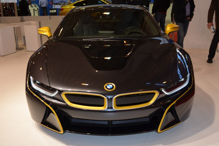 Manhart BMW i8 Tuning 2014 Essen Motor Show Live Fotos 01 750x500