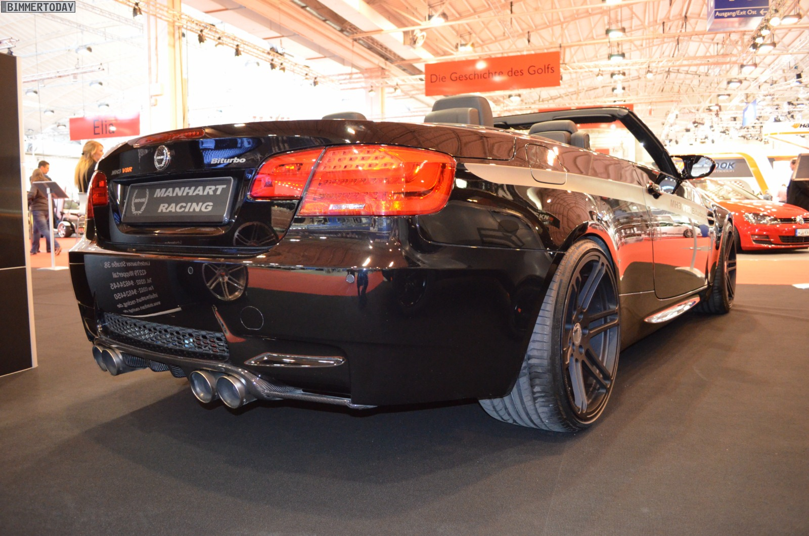 2012 Essen Motor Show Manhart Racing X6 Dirt Edition Mh5 S And R Mh3 V8 Convertible