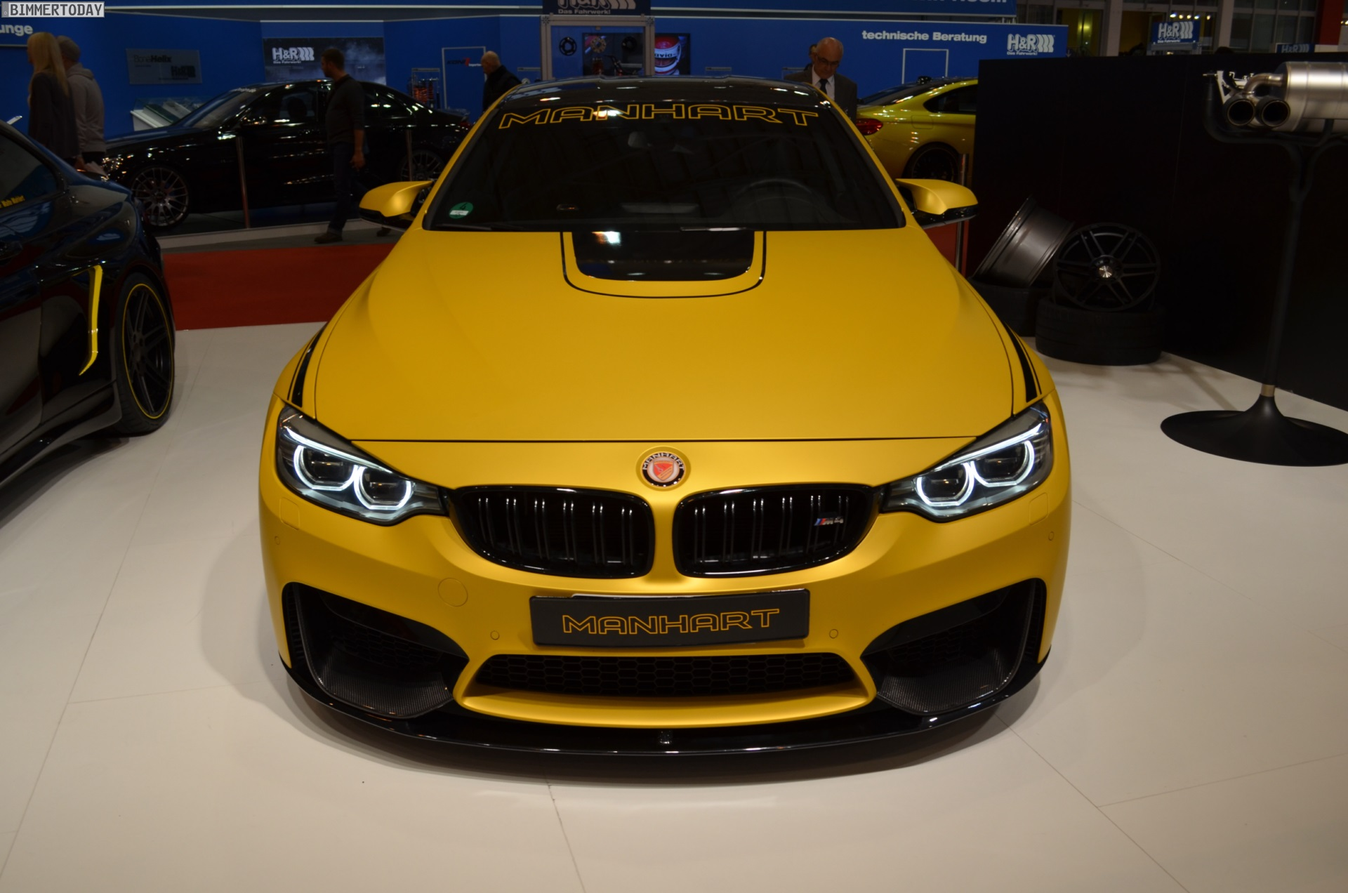 Manhart Mh4 550 Bmw M4 Tuning At 2014 Essen Motor Show