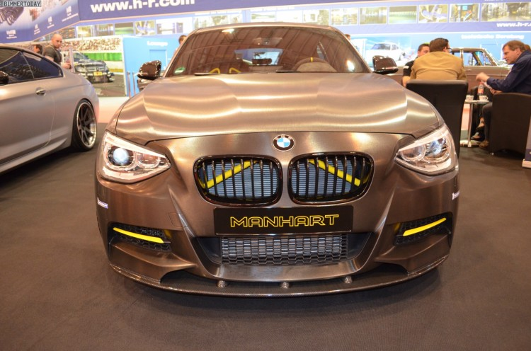 Manhart Performance MH1 400 BMW M135i Tuning 2013 Essen Motor Show 01 750x496