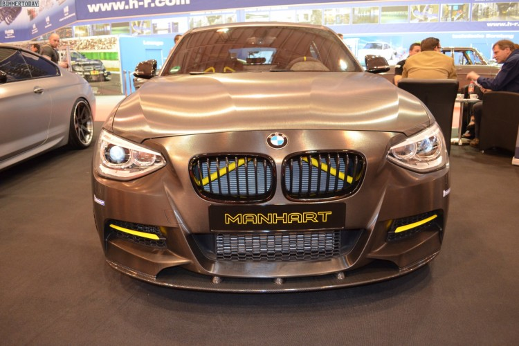 Manhart Performance MH1 400 BMW M135i Tuning 2013 Essen Motor Show 01 750x500