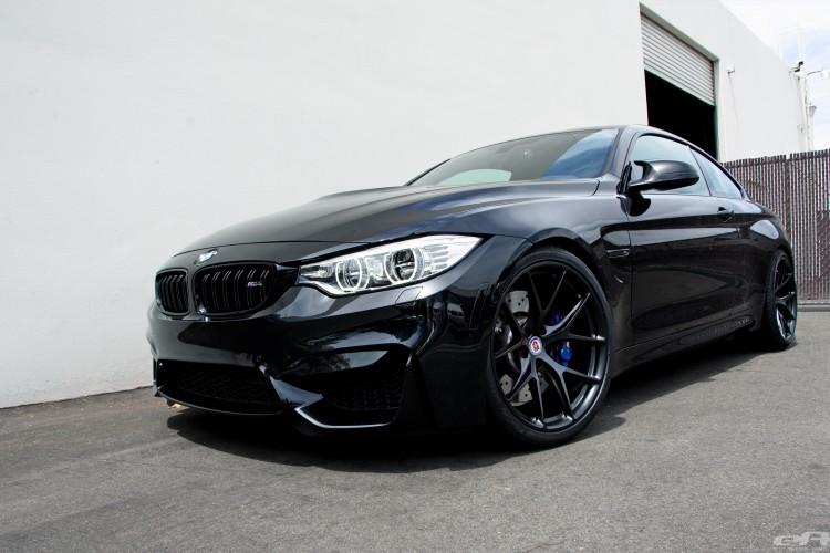 Matte Black HRE Wheels For A Black Sapphire M4 12 750x500