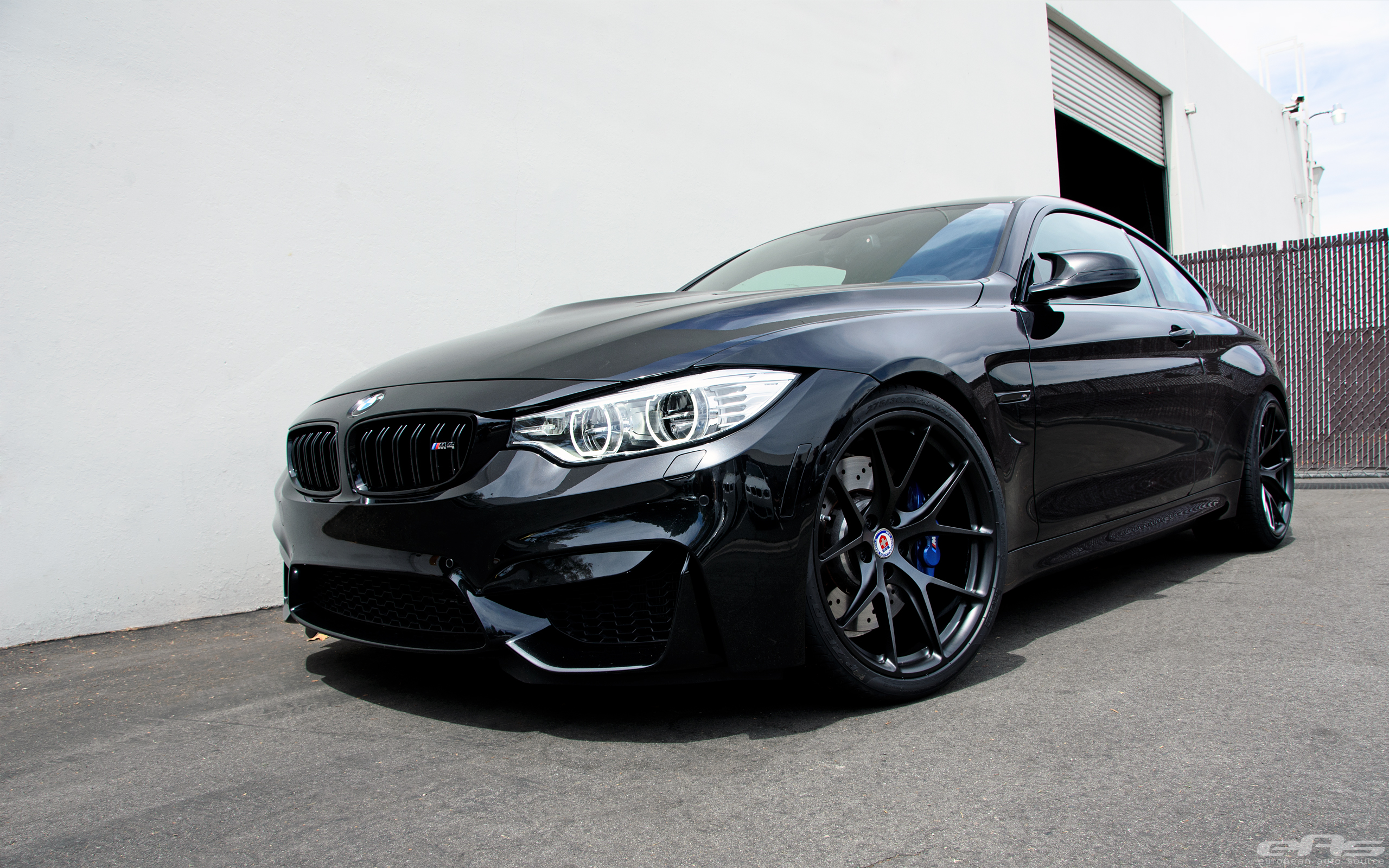 Black Sapphire Bmw M4 With Matte Black Hre Wheels