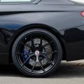 Matte Black HRE Wheels For A Black Sapphire BMW M4