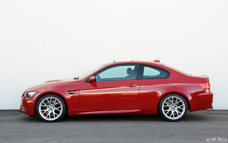 Melbourne Red BMW E92 M3 With VMR 810 Wheels