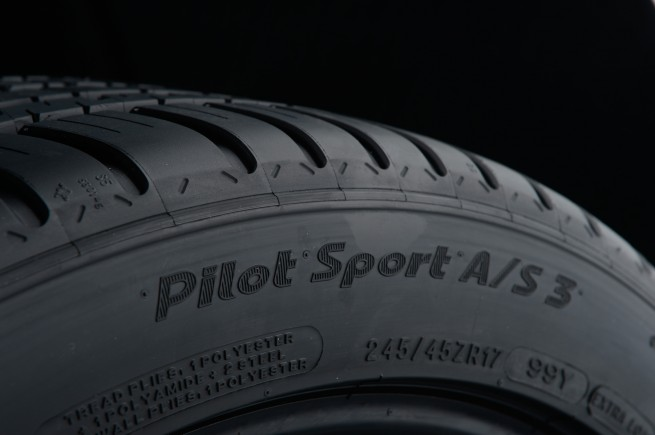 Michelin Pilot Sport Alll Season 3 Side