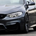 Mineral Gray BMW M4 Gets Gunmetal VMR V810 Wheels