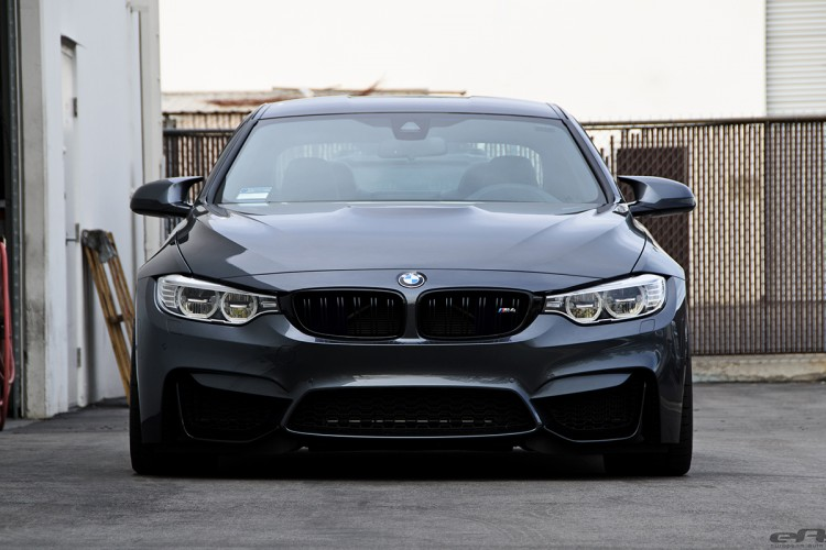 Mineral Gray BMW M4 Gets Gunmetal VMR V810 Wheels 8 750x500