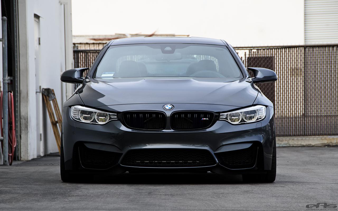 Mineral Gray BMW M4 Gets Gunmetal VMR V810 Wheels 8
