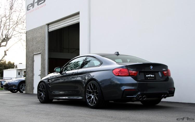 Mineral Gray BMW M4 Gets Gunmetal VMR V810 Wheels 9 750x469