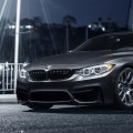 Mineral Gray BMW M4 With VMR Wheels