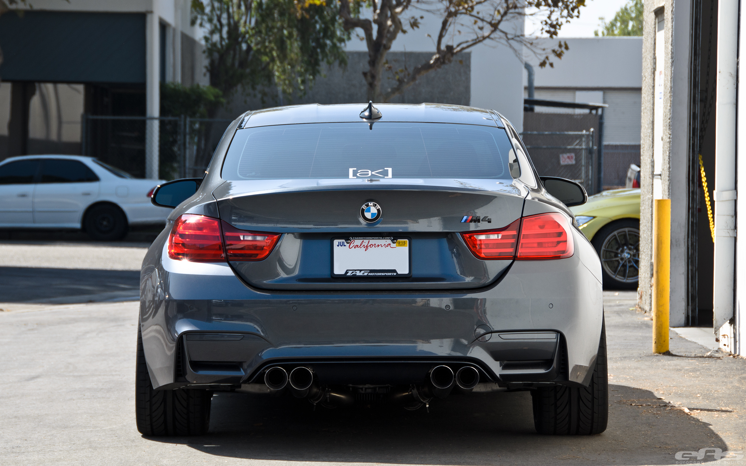 Mineral Grey Bmw M4 On Hre Flowform Wheels By Eas