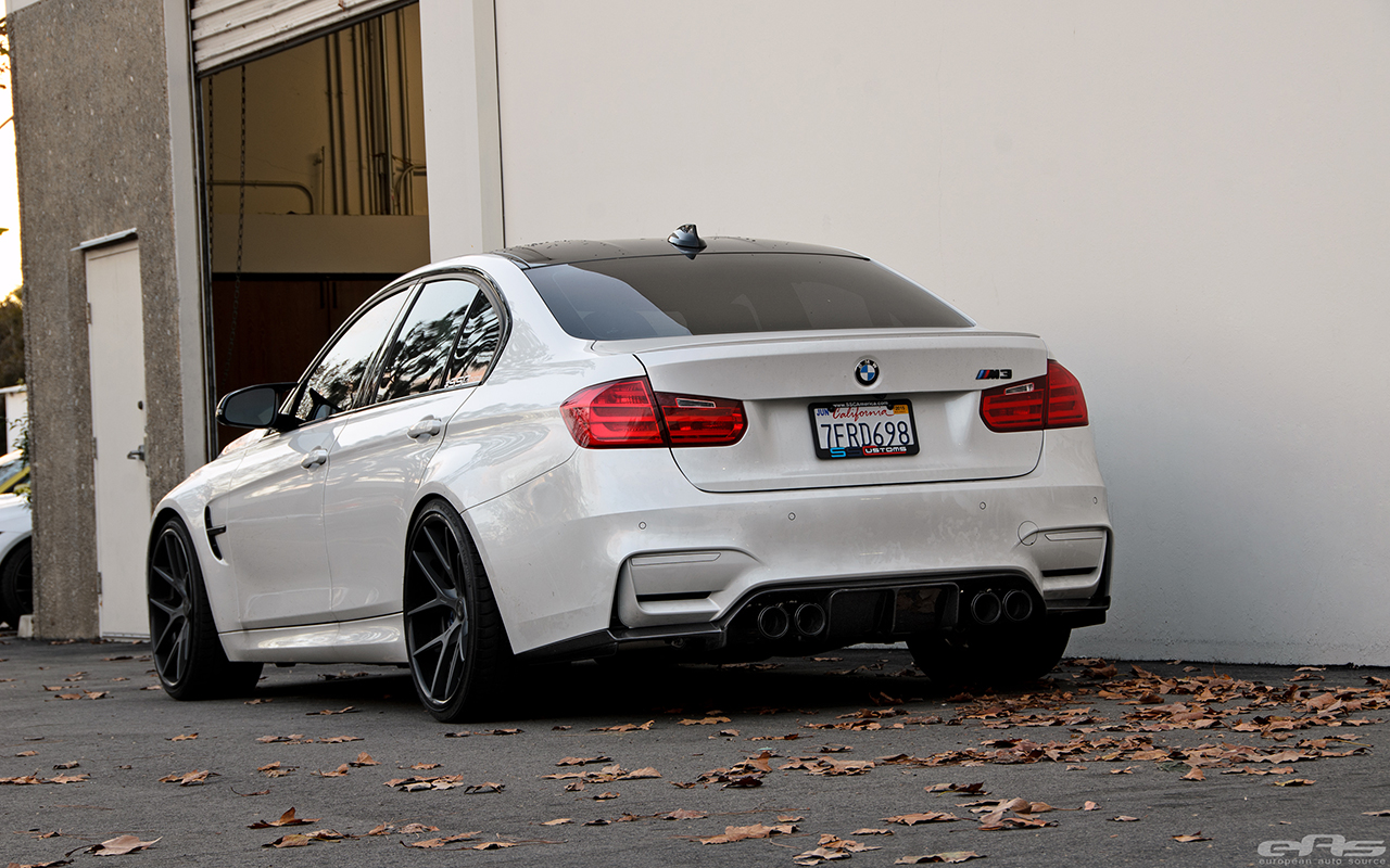 From Mild To Wild Mineral White Bmw F80 M3 By Eas