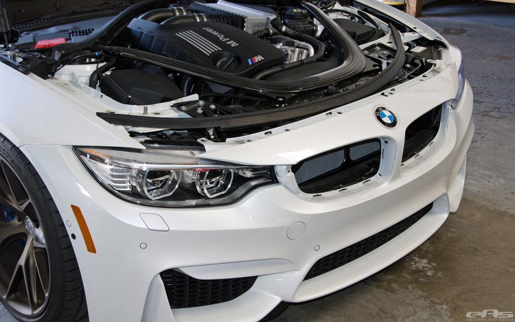 Mineral White BMW M3 With HRE Wheels 2 750x469