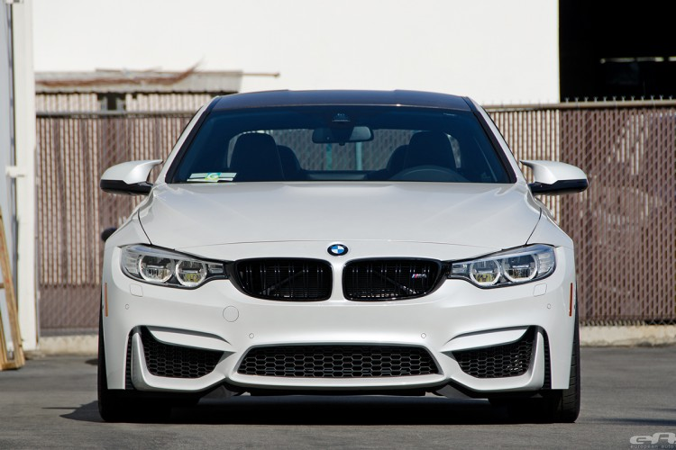 Mineral White BMW M3 With HRE Wheels 6 750x500