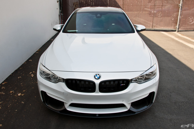 Mineral White M4 Gets The M Performance Aero Package 17 750x500