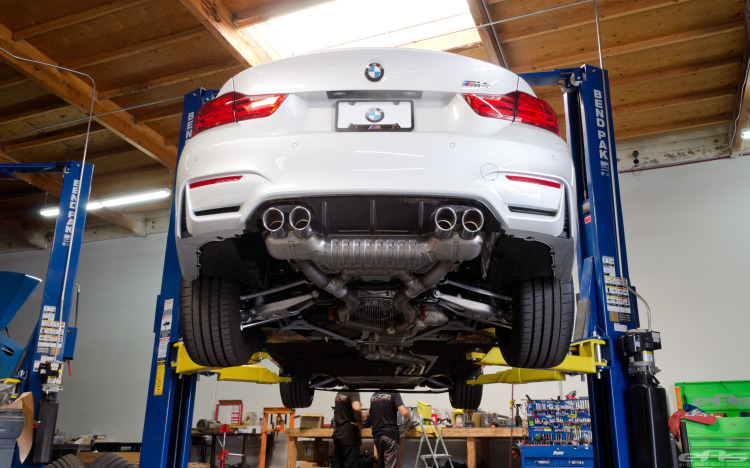 Mineral White M4 Gets The M Performance Aero Package 5 750x468