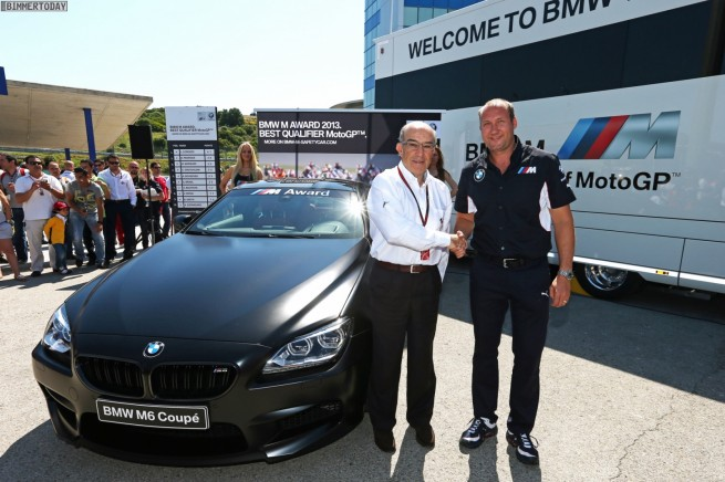 MotoGP 2013 BMW M Award M6 F13 Frozen Black 2 655x436