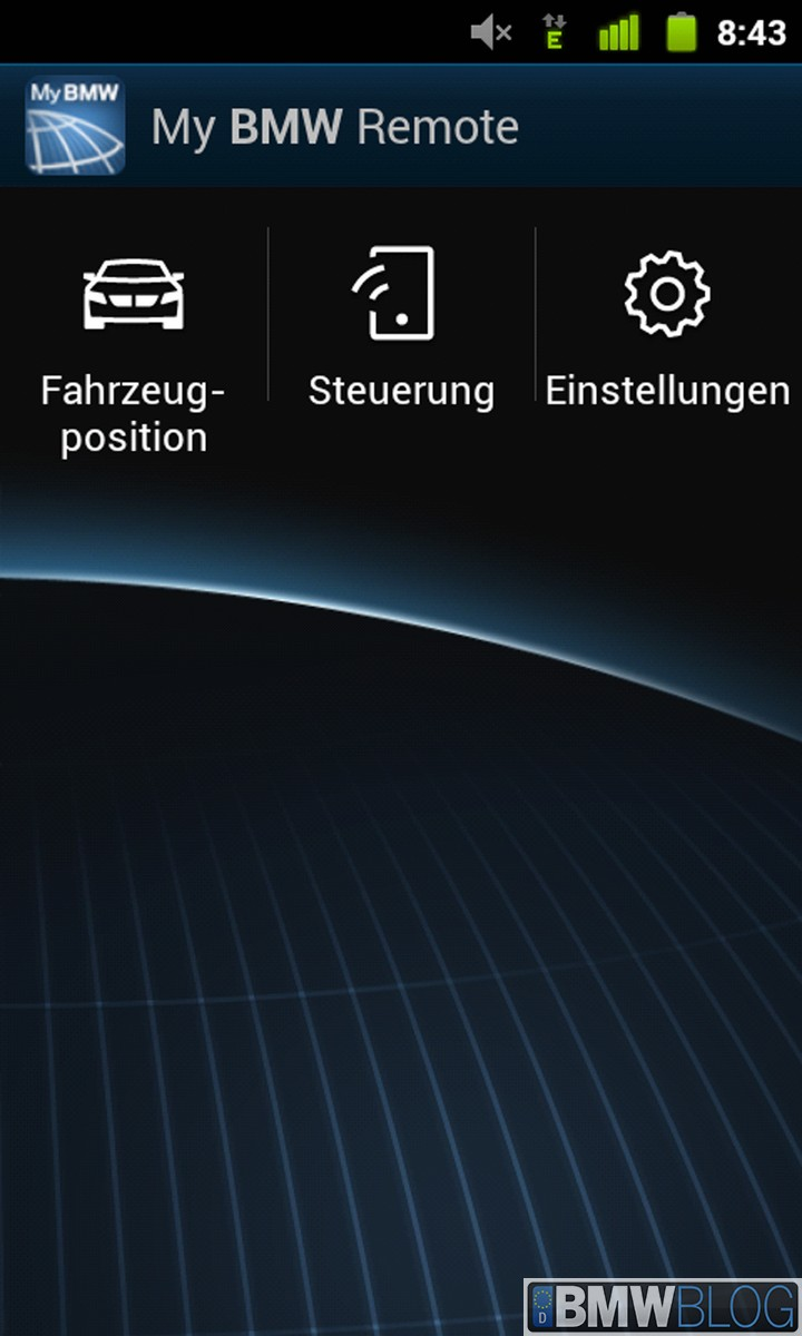 My BMW Remote android 02
