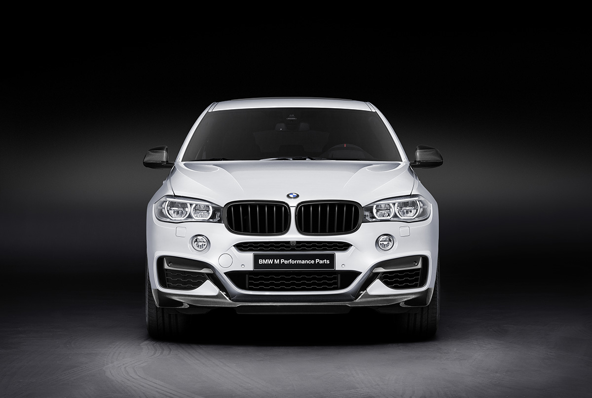 New BMW M Performance Parts For The BMW X6 1
