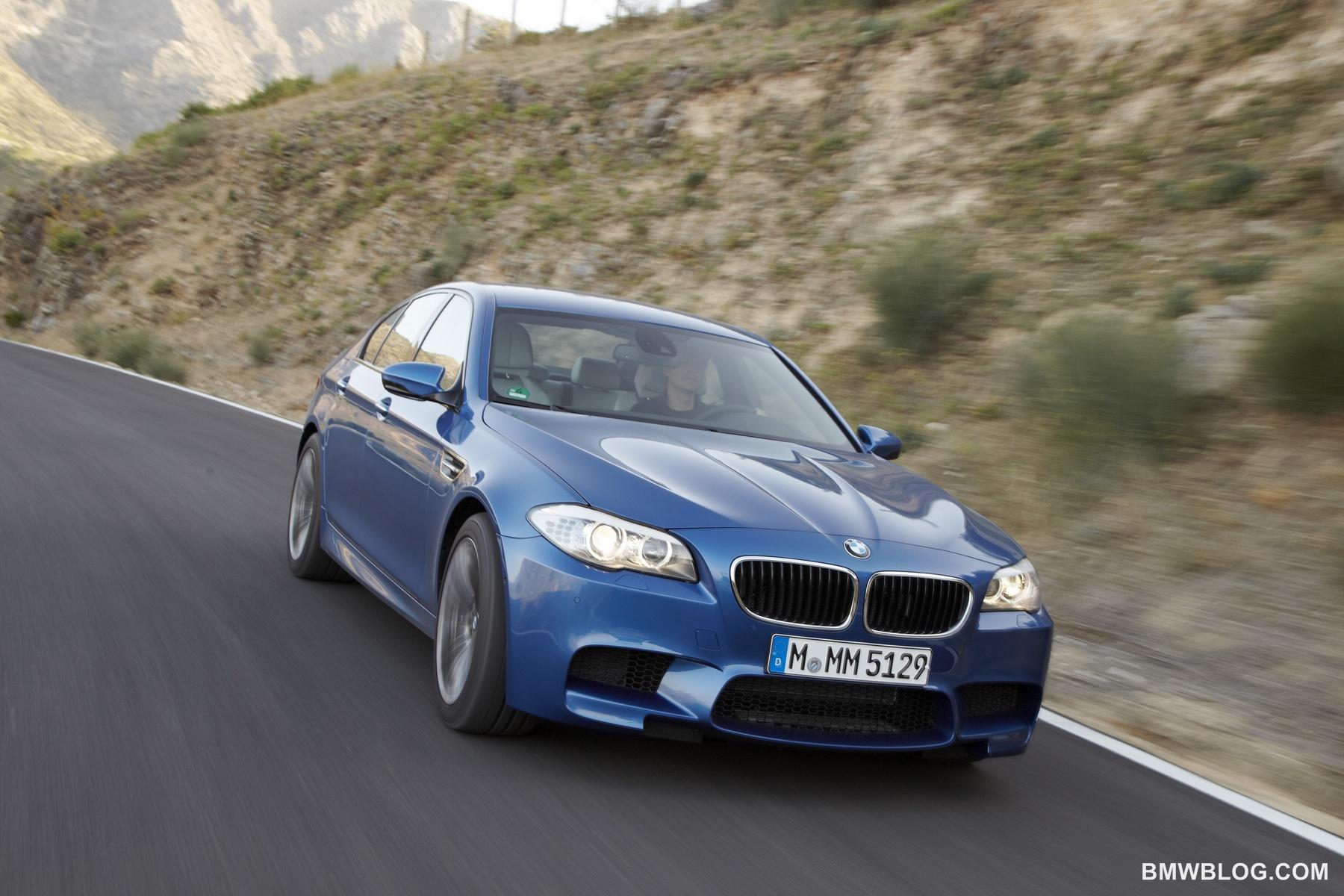 New BMW M5 photos 01
