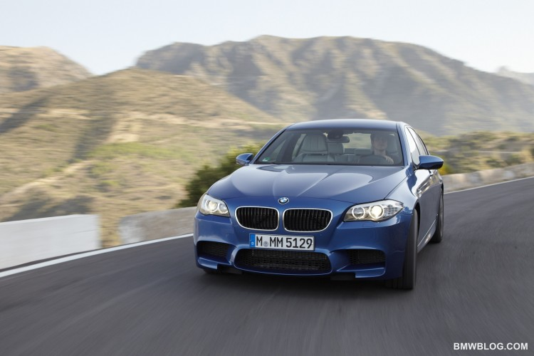 New BMW M5 photos 02 750x500