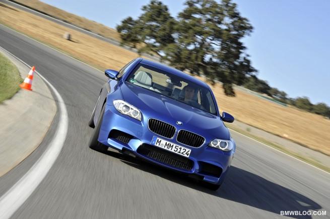 New BMW M5 photos 1241 655x435