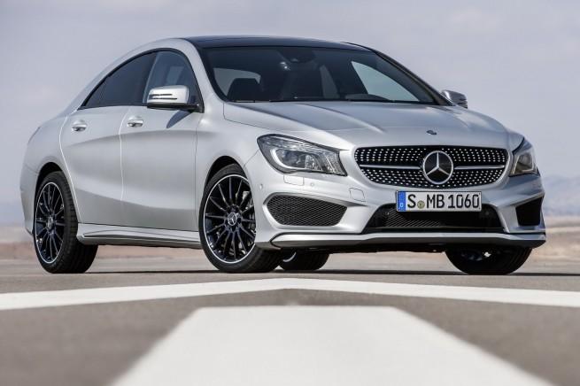 New Mercedes Benz CLA Class 655x436