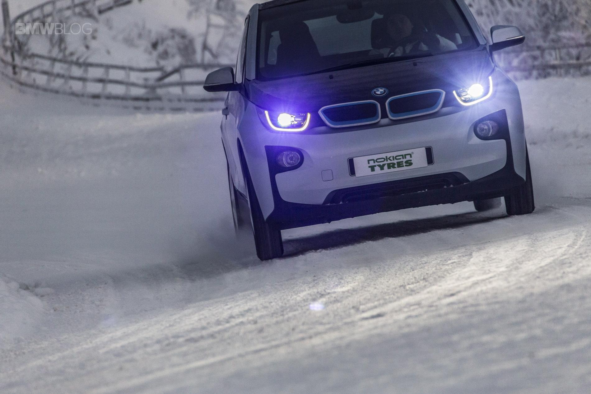bmw i3 winter tires review  bridgestone blizzak lm