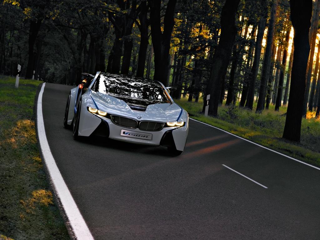 Meet the BMW Vision EfficientDynamics Concept